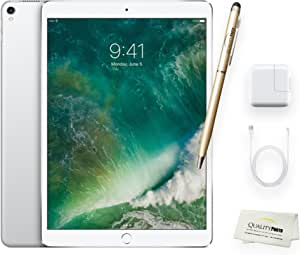 Apple iPad Pro 10.5 Inch Wi-Fi 256GB Silver + Quality Photo Accessories (Latest Apple Tablet) 2017 Model.