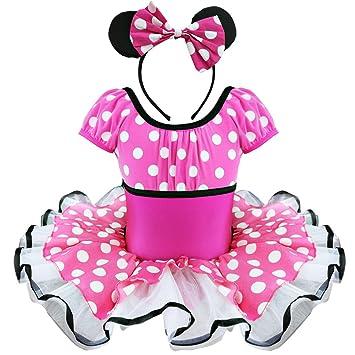 iEFiEL para niños Minnie Mouse disfraz Disfraces Princesa Niñas ...