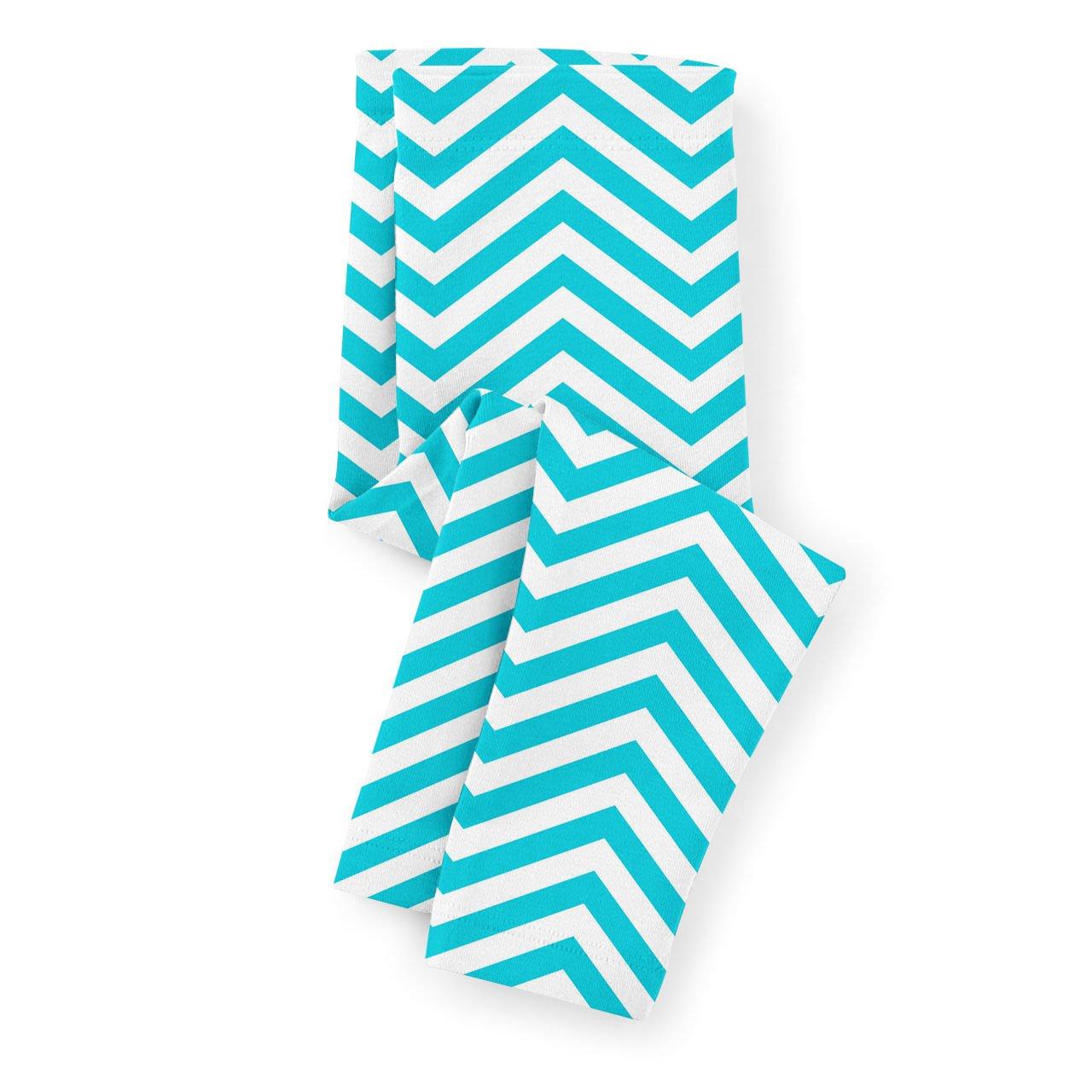 Chevron Stripes Kids Capri Leggings