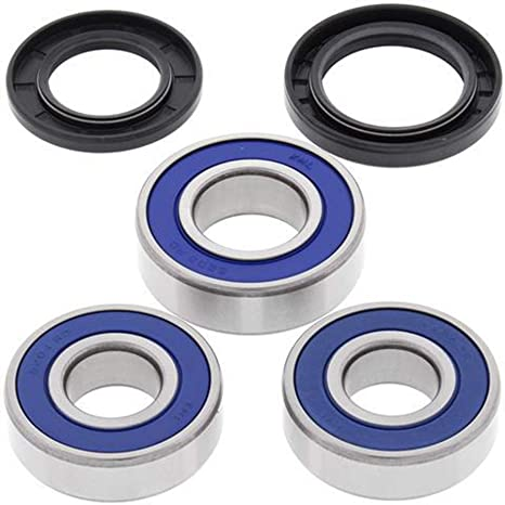 Amazon.com: Wheel Bearing and Seal Kit 2018 Kawasaki EX650 ...