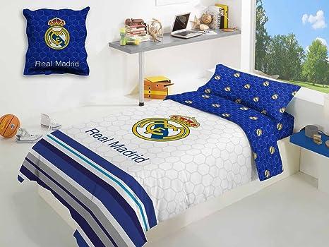 Funda Nordica Real Madrid Cama 90.Manterol Funda Nordica Real Madrid Estadio Para Cama De 90 Cm