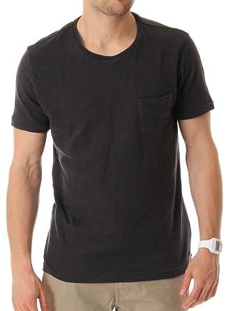 be02f26253 Lee 101 Pocket T-Shirt faded black XL  Amazon.co.uk  Clothing