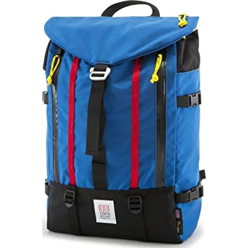 7329d7039 Topo Designs Mountain Pack Backpack | Royal Blue: Amazon.co.uk: Luggage