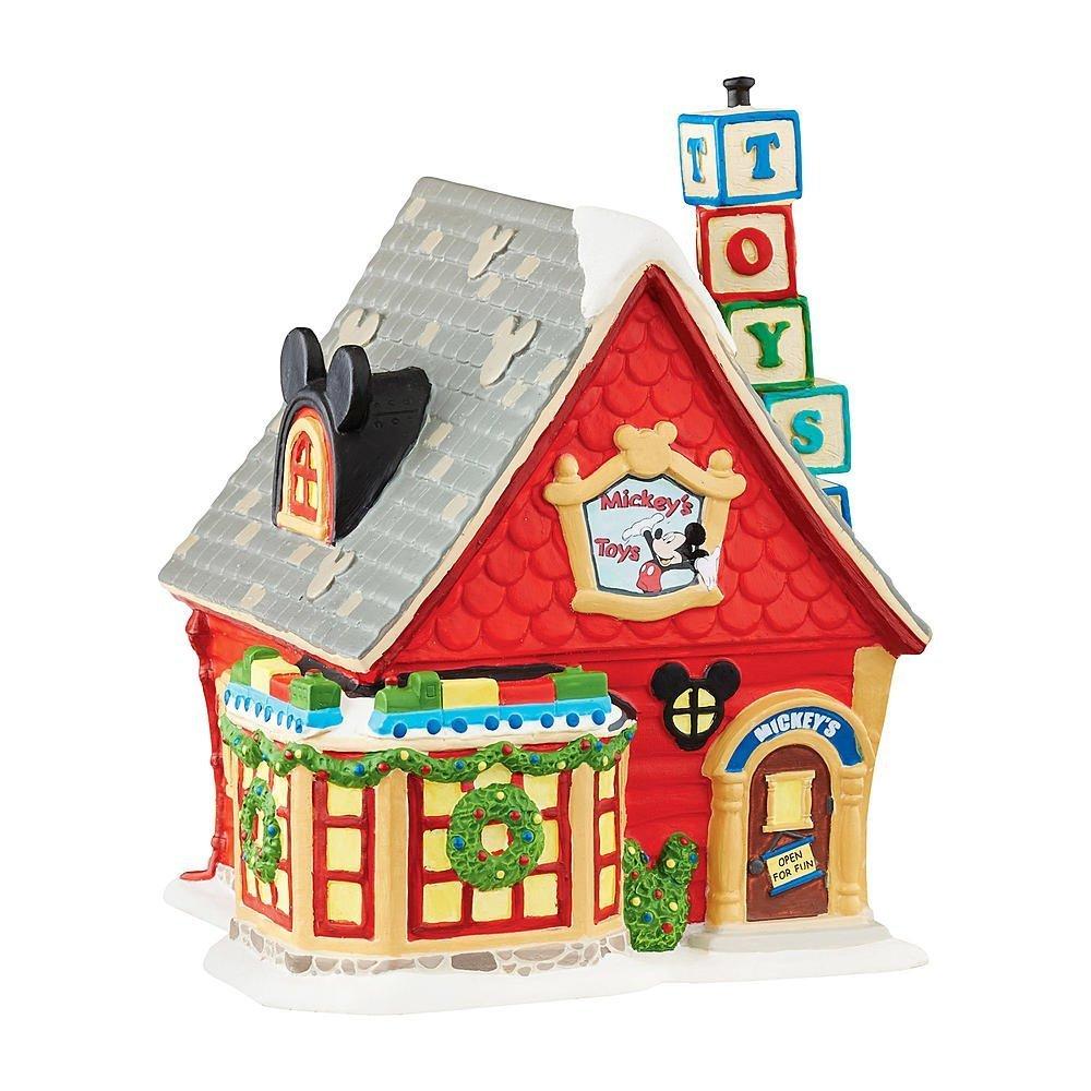 Department 56 Mickeys Toy Shop Mickeys Christmas Village Series enesco