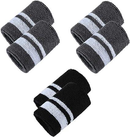 1 Pair Sports Yoga Running Basketball Wristband Wrist Band Sweat Band Sweatband
