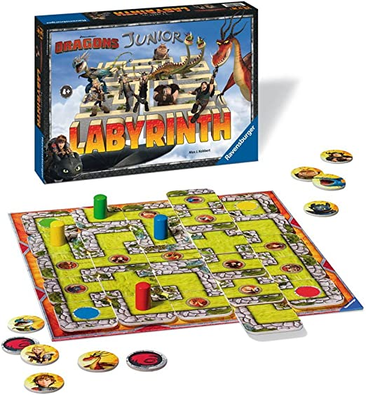 Ravensburger - Labyrinth Junior Dragons (21205): Amazon.es: Juguetes y juegos