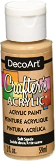 product image for DecoArt Crafter's Acrylic Paint, 2-Ounce, Soft Suede