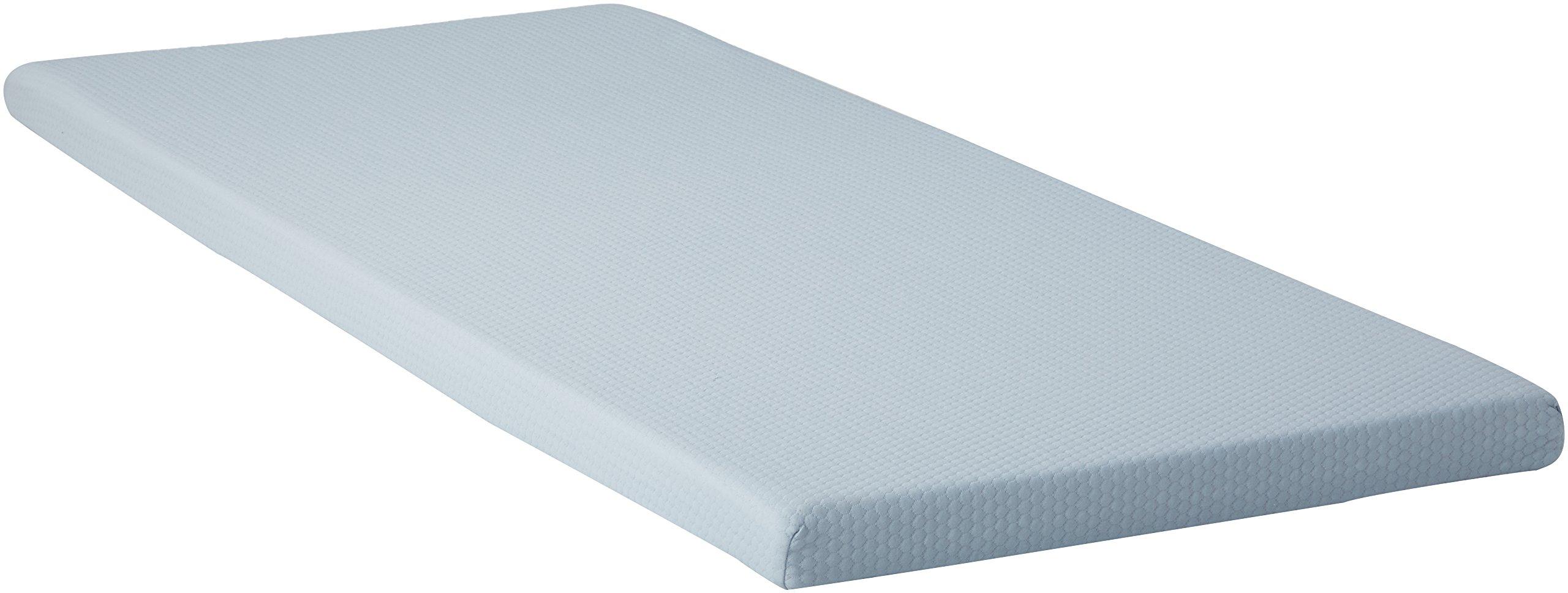 Simmons BeautySleep Siesta Memory Foam Mattress: Roll-Up Bed/Floor Mat, 3'' Twin