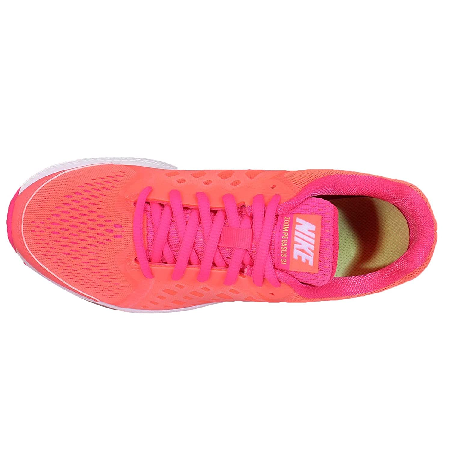 f038c403e573d NIKE - Zoom Pegasus 31 Junior Running Shoes (Orange Pink) - EU 37