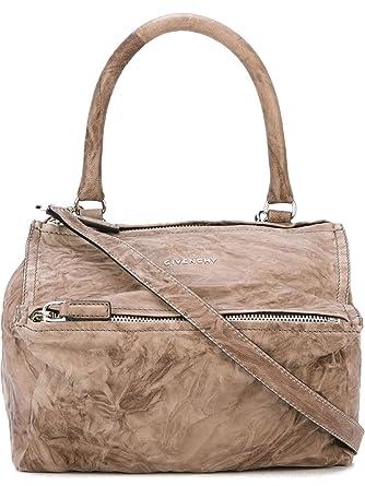 6cc07f46d9dd Givenchy Women s BB05251004217 Brown Leather Handbag  Amazon.co.uk  Clothing