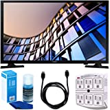 "Samsung UN24M4500 23.6"" 720p Smart LED TV (2017 Model) w/ Accessories Bundle Includes, 6ft High Speed HDMI Cable - Black, SurgePro 6-Outlet Surge Adapter w/ Night Light and LED TV Screen Cleaner"