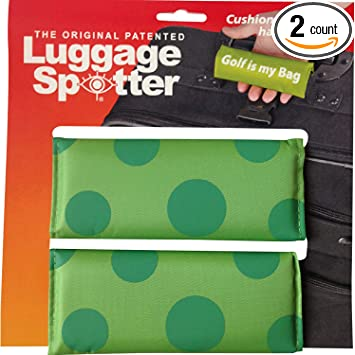 Luggage Spotter LIME GREEN Luggage Locator//Handle Grip//Luggage Grip//Travel Bag Tag//Luggage Handle Wrap 4 PACK BUY ONE GET ONE FREE