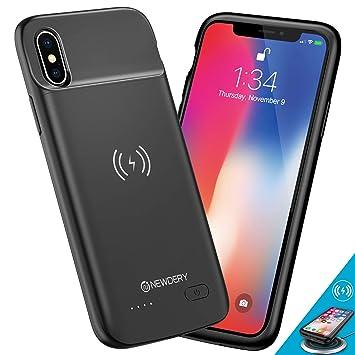 NEWDERY Funda Batería para iPhone X/XS, 4100mAh Funda ...