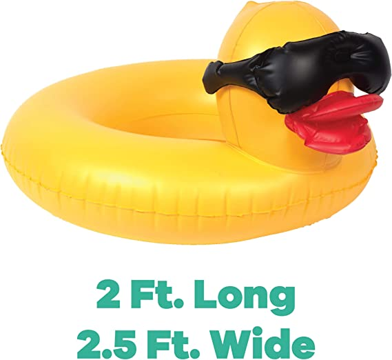 Amazon.com: Game 51817-BB Derby - Anillo inflable para ...