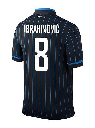 new style b123a 23bf6 IBRAHIMOVIC #8 Inter Milan Home 2014/2015