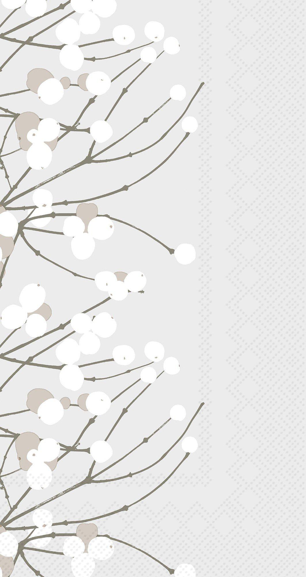 Ideal Home Range 32 Count 3-Ply Paper Guest Towel Napkins, Marimekko Collection (Lumimarja)