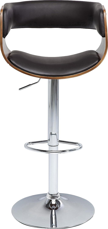 Kare 79236 Manhattan Wood - Taburete de Bar, Otro, Negro, 51 x 52.5 x 110 cm: Amazon.es: Hogar