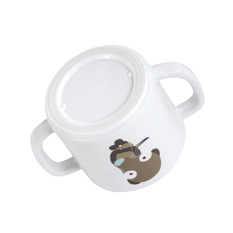 L/ÄSSIG Tasse Trinklernbecher Schnabeltasse Kinder Baby Kleinkind mit Henkeln rutschfest sp/ülmaschinengeeignet//Cup Wildlife Erdm/ännchen