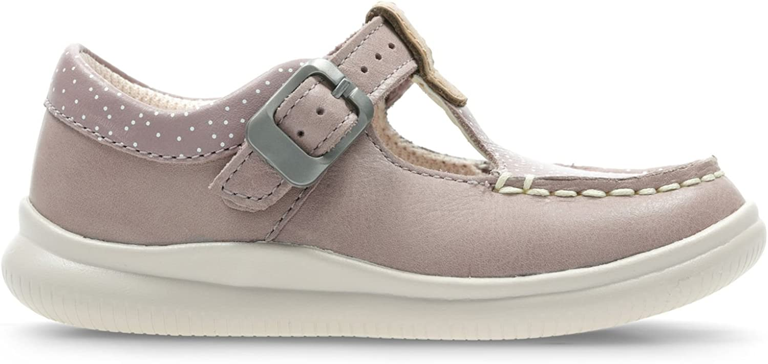 Sneakers Basses Fille Clarks Cloud Rosa T