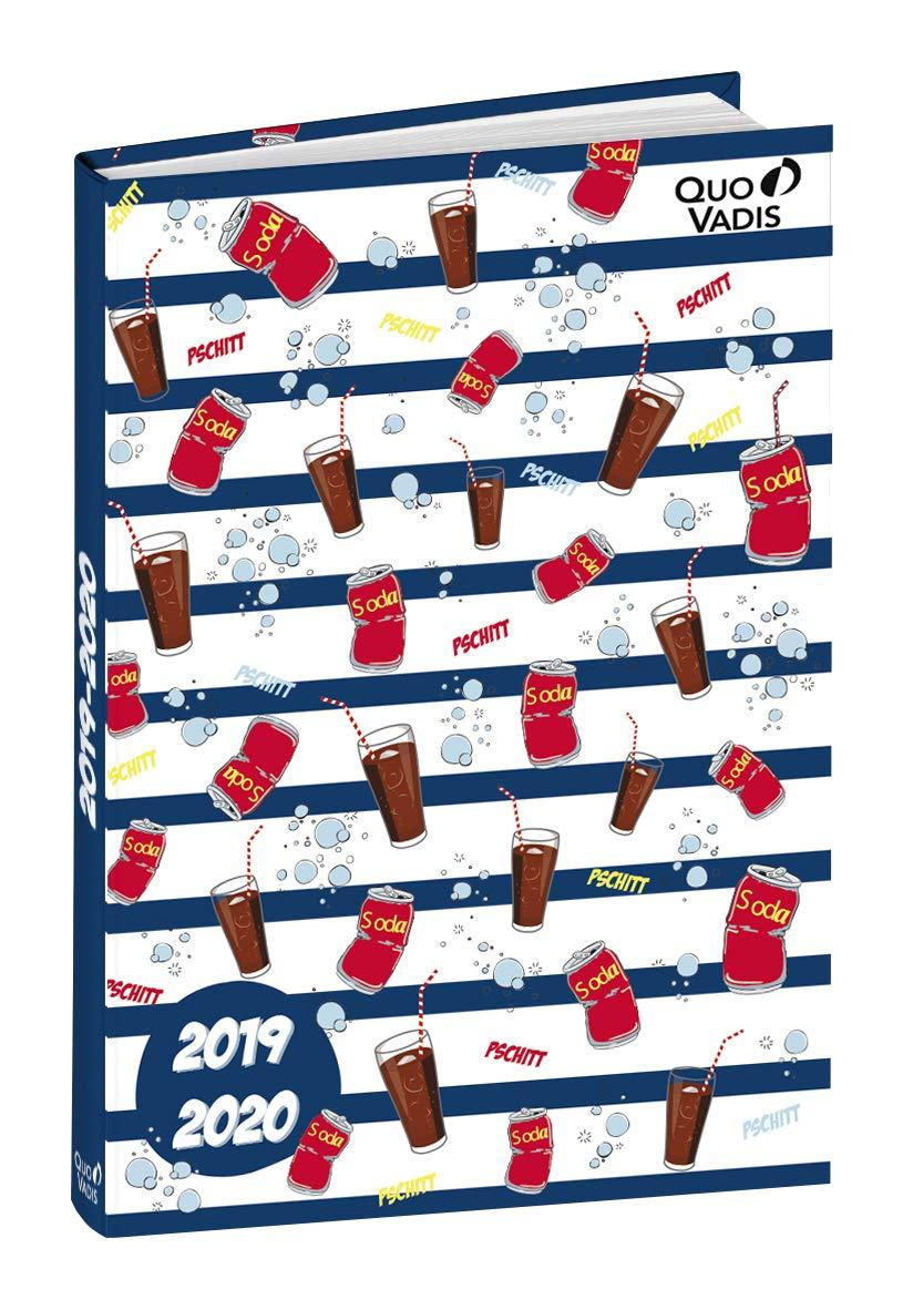 Agenda Escolar 1 Día/Página 2019-2020 Sweet, 12x17cm, diseño ...