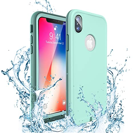 bdbcf03f2 iPhone XS ケース iPhone X ケース ZVE® iPhone10 ケース 完全防水ケース アイフォン x ケース