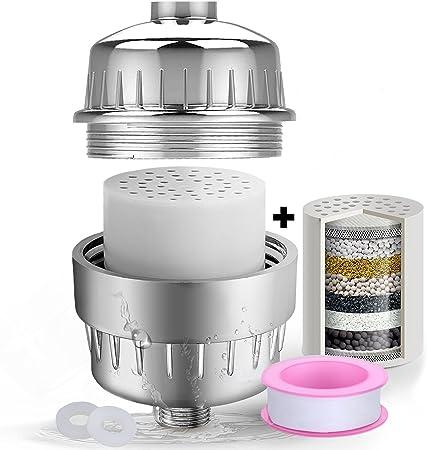 Purificador de agua para duchas y bañeras LEF de 10 etapas ...