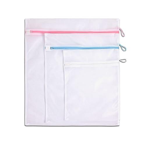 LaundrySpecialist® BOLSAS LAVADORA set de 3 piezas - ideal para ...
