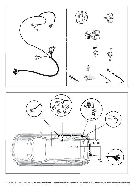 Wiring Diagram 13 Pin Towbar