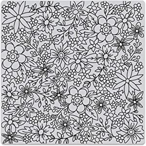 Hero Arts CG736 Bold Prints, Flowers for Coloring, 6