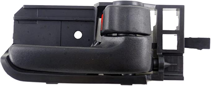 Black and Chrome Dorman 82619 Interior Door Handle for Select Pontiac Models