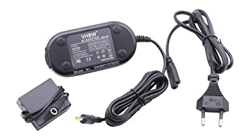 vhbw Cargador - Adaptador para cámaras Panasonic Lumix DMC-GF3 etc; para reemplazo de DMW-AC8, DMW-AC8EG, DMW-DCC11, DMW-DCC11E.