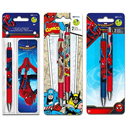 Party Supplies Party Favours & Bag Fillers Spider-Man Party Favours Stationery Kit