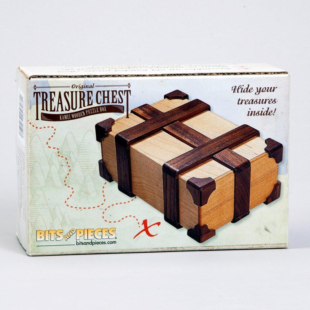 amazon com bits and pieces kamei treasure chest gift box