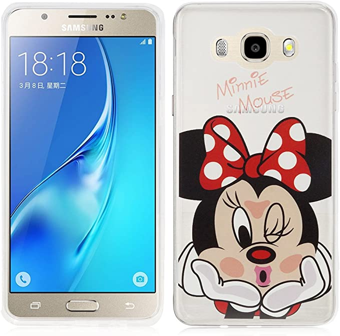 Samsung Galaxy J5 (2016) Caso HCN PHONE Cubierta de silicona TPU ...