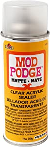 Mod Podge 1469 Clear Acrylic Sealer, 12 Ounce, Matte