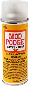 Mod Podge Clear Acrylic Sealer (12-Ounce), 1469 Matte