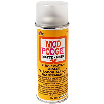 amazon com mod podge clear acrylic sealer 12 ounce 1469 matte