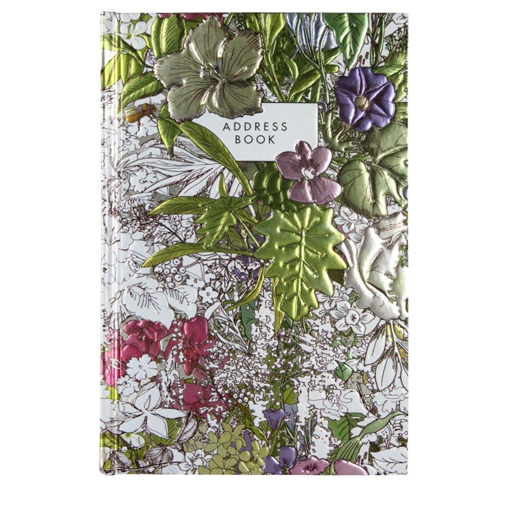 A5Adressbuch Blumen A5Adressbuch Blumen Paperchase