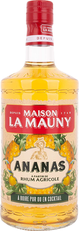 MAISON LA MAUNY ANANAS RUM 70cl: Amazon.es ...