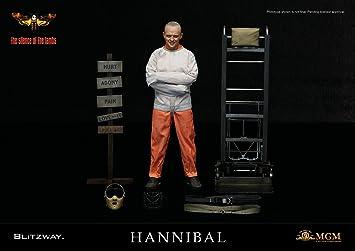 Blitzway Figura Hannibal Lecter Straitjacket Ver. 30 cm. El Silencio de los corderos. Escala 1:6: Amazon.es: Juguetes y juegos