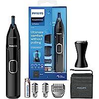 Philips nästrimmer 5000-serien - Trimma näsa, öron- och ögonbrynhår - Fullt tvättbar - Hudskydd - Rostfria blad…