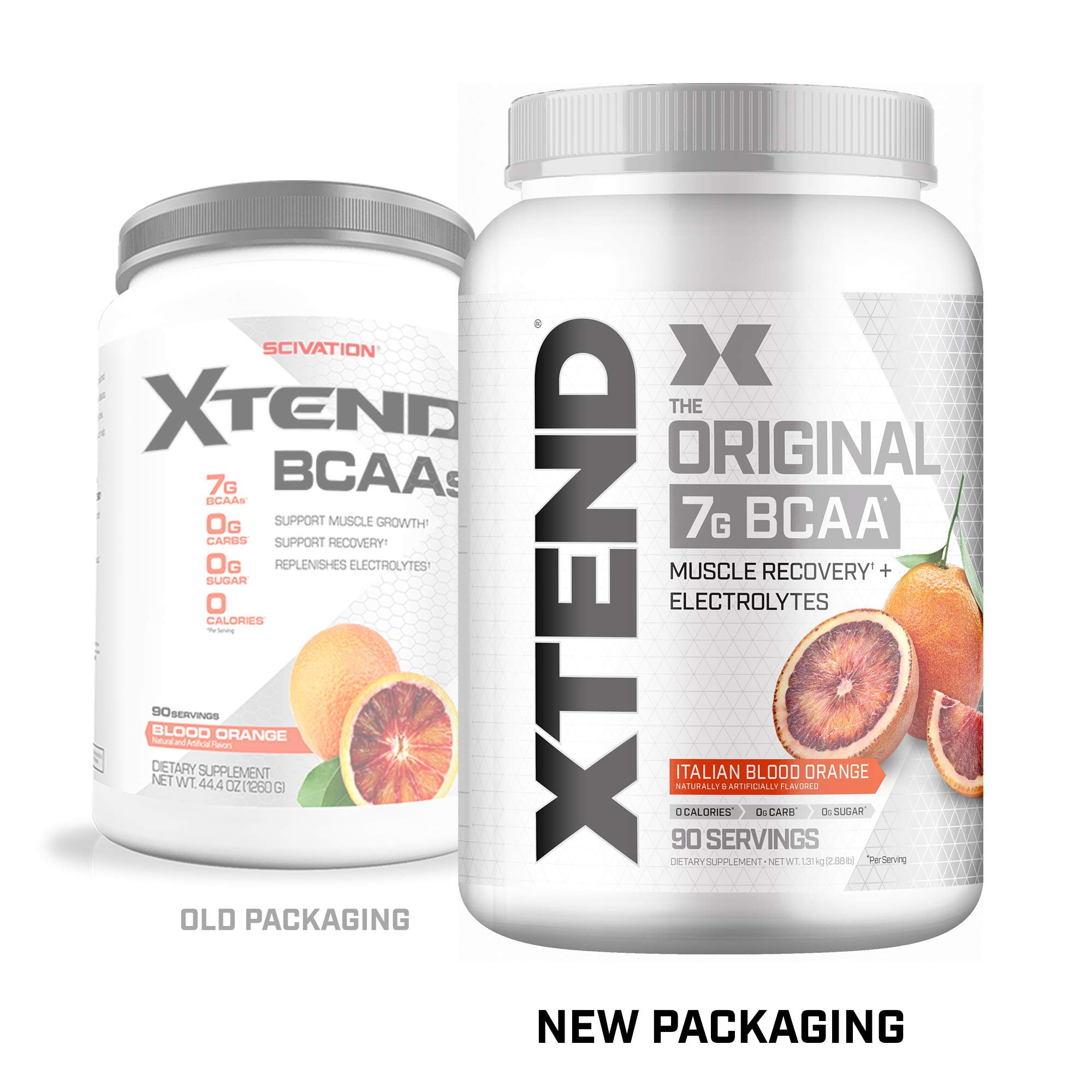 Scivation Xtend BCAA Powder, Branched Chain Amino Acids, BCAAs, Blood Orange, 90 Servings by Scivation (Image #2)
