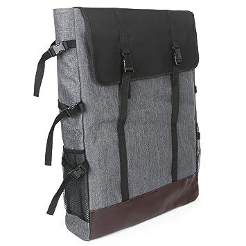 Sorliva Mochila para Pintar, Bolso Mochila para diseño Multifuncional Bolsa para caballete Instrumentos de pintura Dibujo Mochila para Artista 4 K: ...