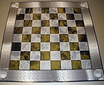 Tablero de ajedrez para la colección Marvel realizado en cartón 50x50 cms: Amazon.es: Juguetes y juegos