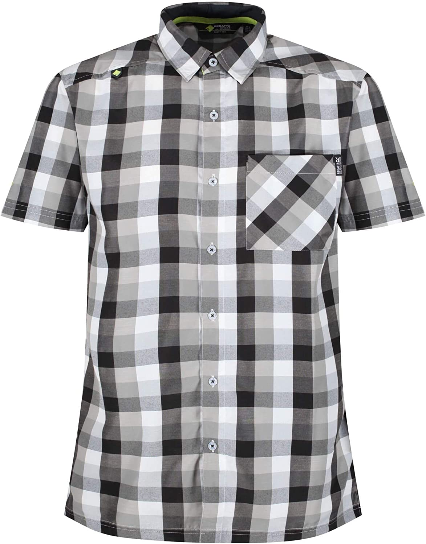 Regatta Maverick V Herren Polohemd Herrenhemd Freizeithemd Shirt T-Shirt Kurzarm