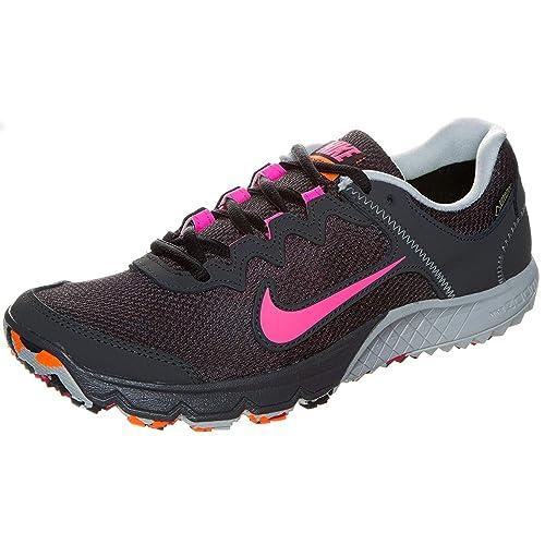 a47f4757b136 NIKE - Zoom Wildhorse GTX Womens  Running Shoes (Brown Grey) - EU 38 ...