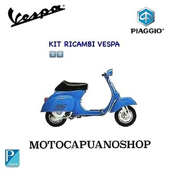Kit restauro rodillos Accesorios Vespa 50 special Mandíbulas Tambor Pico.