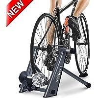 HEALTH LINE PRODUCT Fluid Bike Trainer Stand, Indoor Fluid Bicycle Exercise Trainer w Quiet Real Road Feel Flywheel…