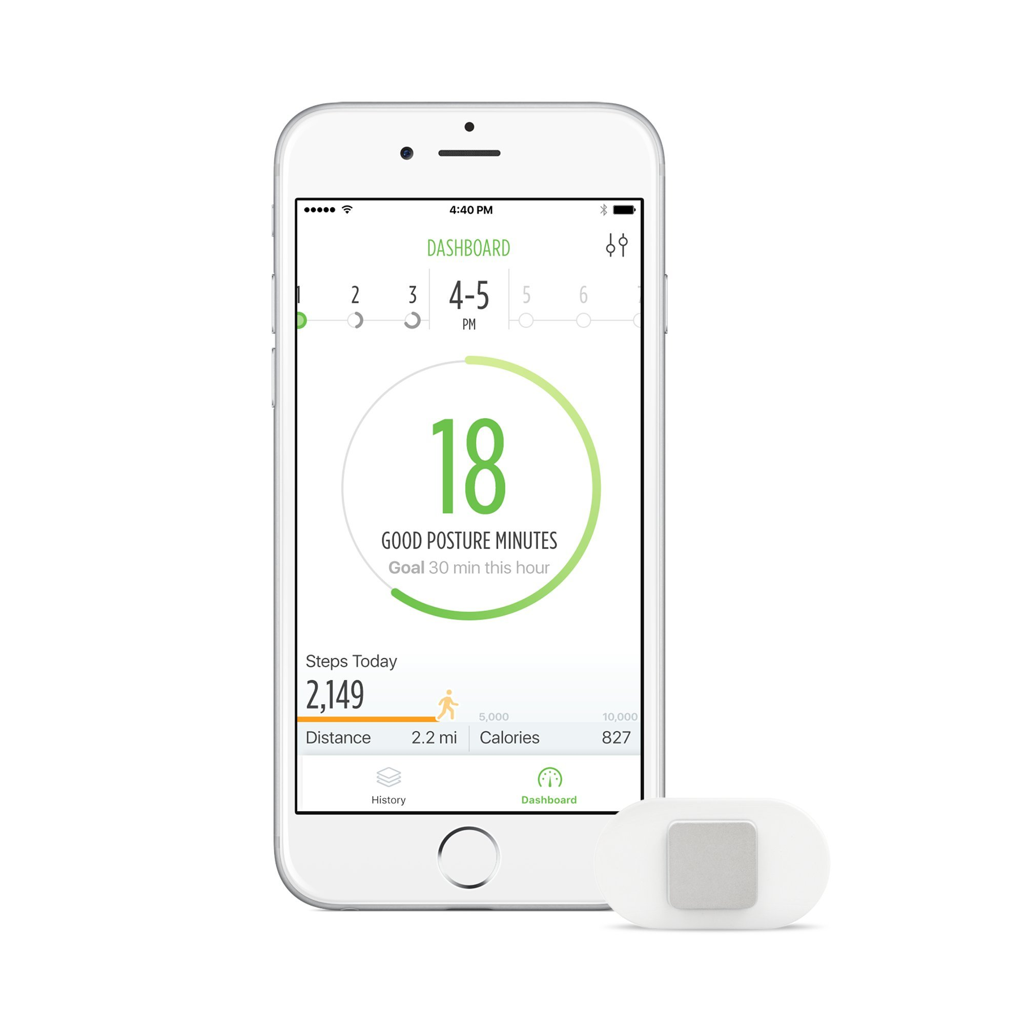 Lumo Lift: The First Wearable Posture Coach. You slouch, it vibrates! A posture corrector that's perfect for sitting or working at computers. Comfortable & easy to use. Improve your posture today! by Lumo BodyTech