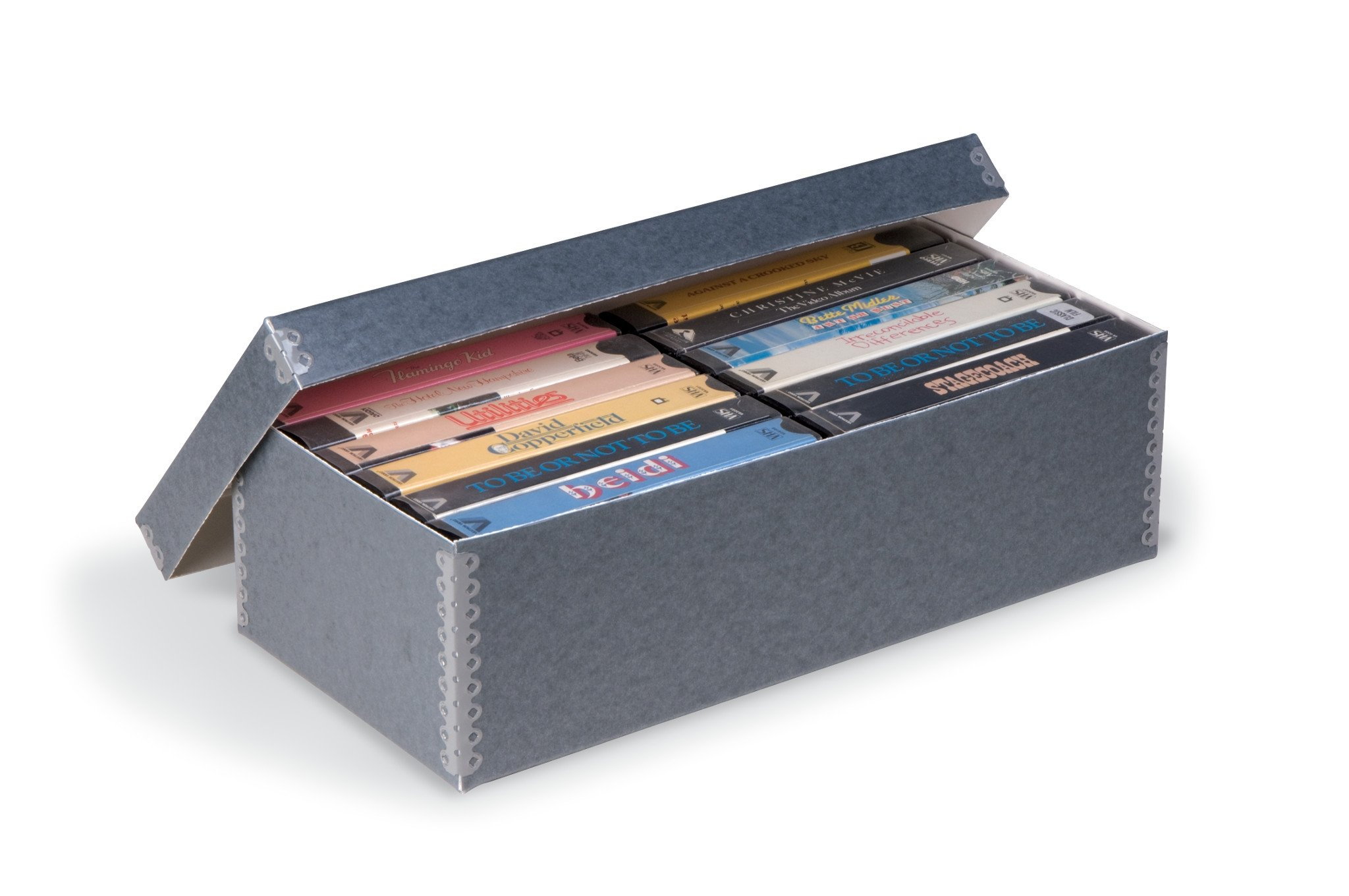 Gaylord Archival Videocassette Storage Box by Gaylord Archival